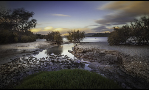 lake stream volcanic volcano seismic geothermal river leading leadinglines sulphur grass green clouds sky nz newzzealand aotearoa whitecloud long exposure longexposure nisi filter breaktrhoughphotography cpl nd1000 nest tripd canon 5d 5dmk2 flickr colours movement dslr flickrtravelaward rock pebbles lakebed texture newzealand reflections sand