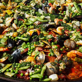 #Corallina paella #party @cornerstonenapa | by craig.camp