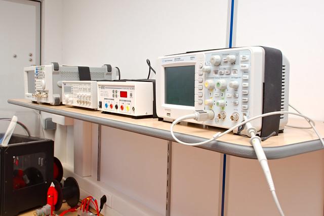 Équipement électronique du camion fablab du Cesi
