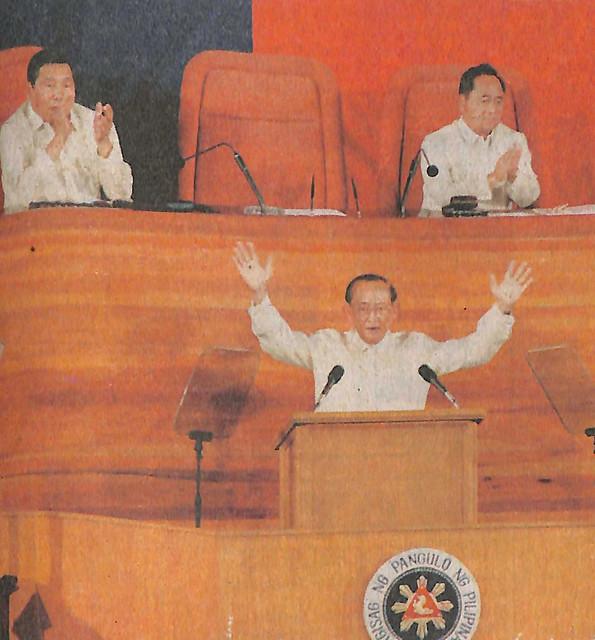 President Ramos' 5th SONA