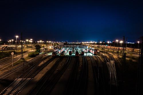 Rangierbahnhof Mannheim