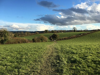 The Meon Valley near Exton Winchester to West Meon walk