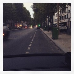 Car parking in Paris in August : a dream came true!! #paris #parisnow