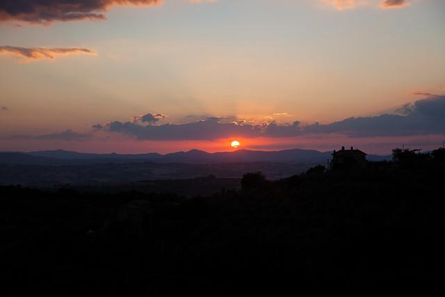 Canalicchio Sunset