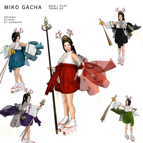 *NAMINOKE*MIKO GACHA | by taiko McCaw