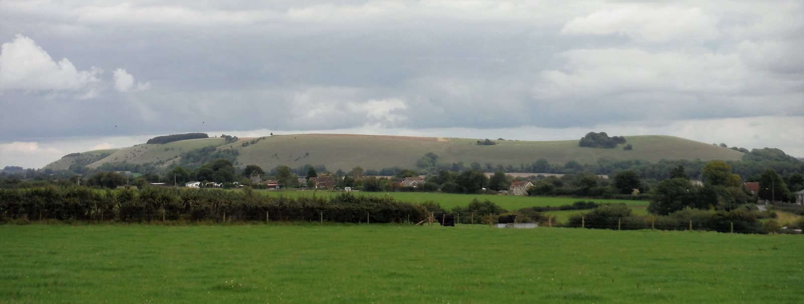 White Sheet Hill from Horse Hill, above Ludwell SWC Walk 251 Tisbury Circular via Ludwell and Berwick St. John