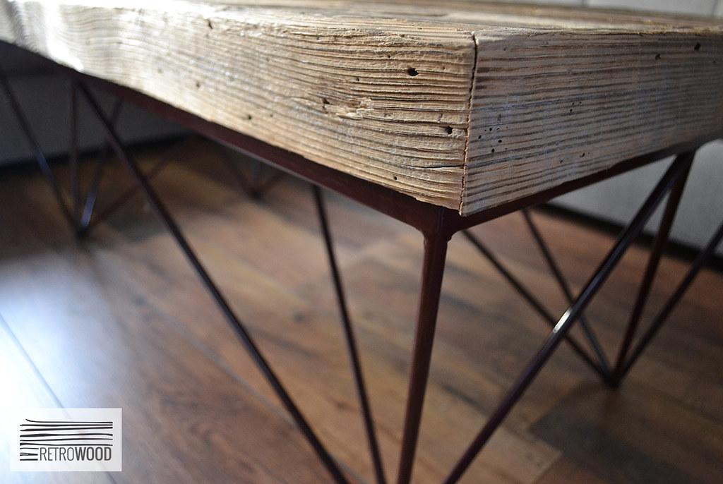 Stolik Kawowy Retrowood Stare Drewno Amal 2 Artur
