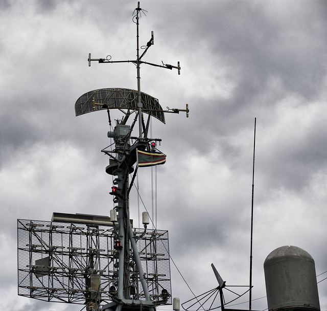 Communications Array and Lights