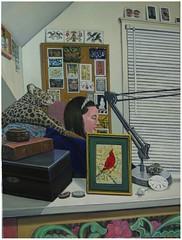 her studio her