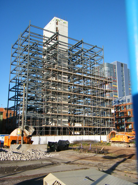Manchester Northern Quarter building work