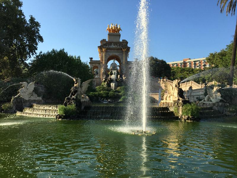 Ly, Cindy; Barcelona, Spain - NINE - Fountain