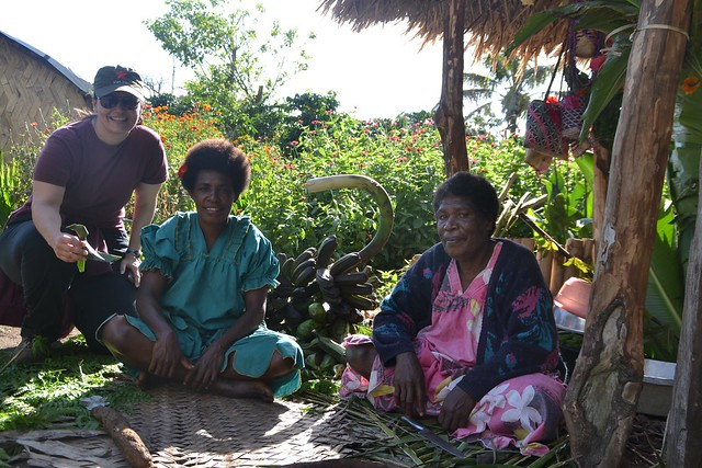 tourist revel in the interaction that they have with local villages in Vanuatu through Community Based Tourism