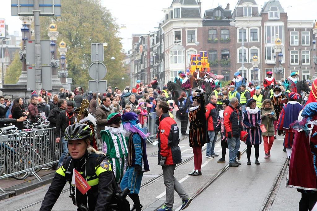 Intocht Sinterklaas Amsterdam 2016 Copyright 2016 C Bob Th Flickr