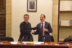 Firma de contrato con la operadora Nubip