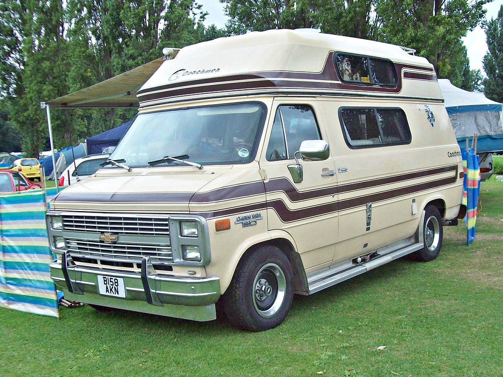 14 Chevrolet G20 Chevy Van (3rd Gen) Coachmen RV (1985) | Flickr