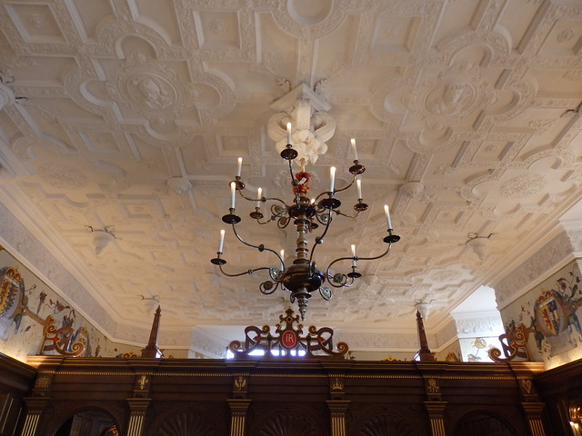 Ceiling of the Laich (low) Hall in Edinburgh Castle