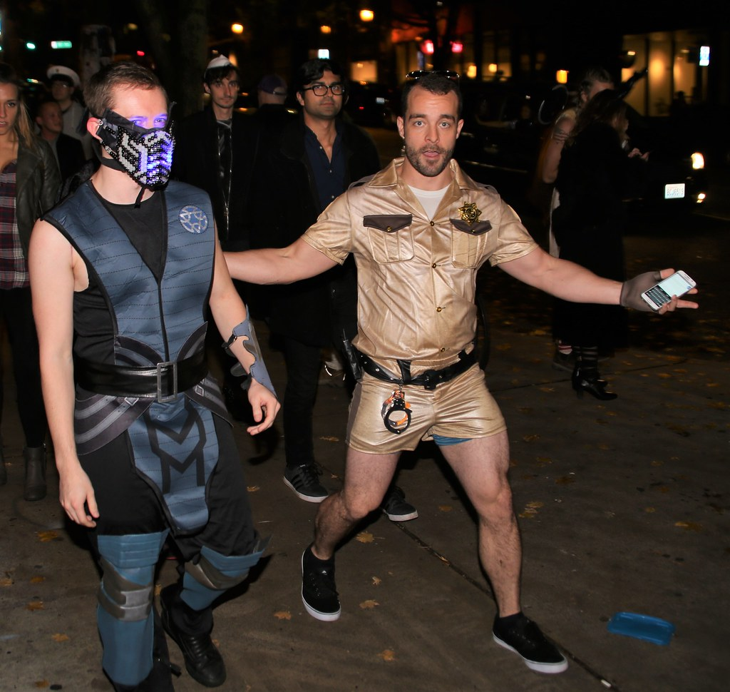 Reno 911 Halloween Costume.That Guy From Reno 911 Halloween Weekend 2016 On Pike Stre Flickr