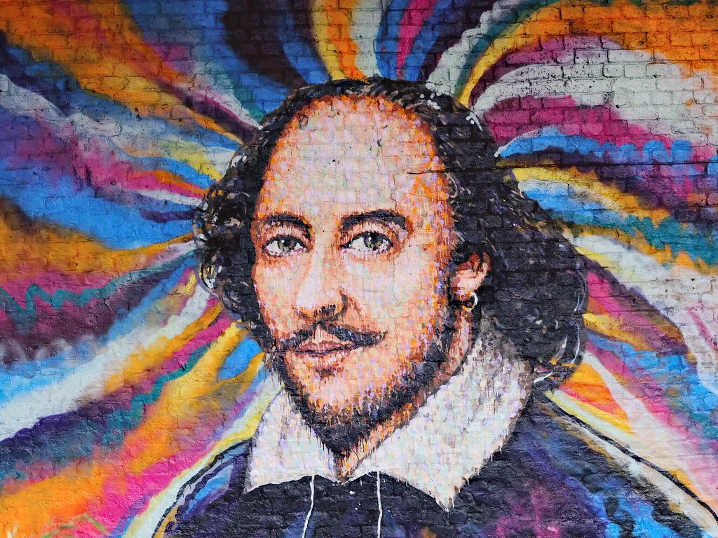 Shakespeare | Shakespeare mural by Jimmy.C. Clink Street, Lo… | Ungry Young  Man | Flickr
