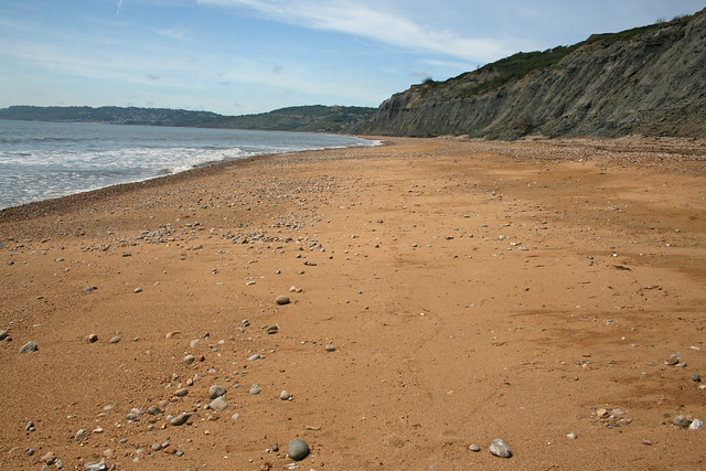 Approaching Charmouth