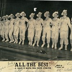 "Tivoili Theatre production ""All the Best"" - signed by the girls on stage - 1940s"