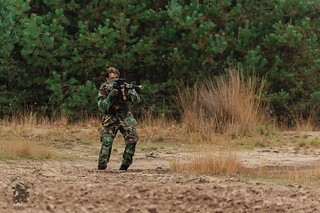 Opfor in actie(Dutch marines) | by https://defensiefotografie.nl