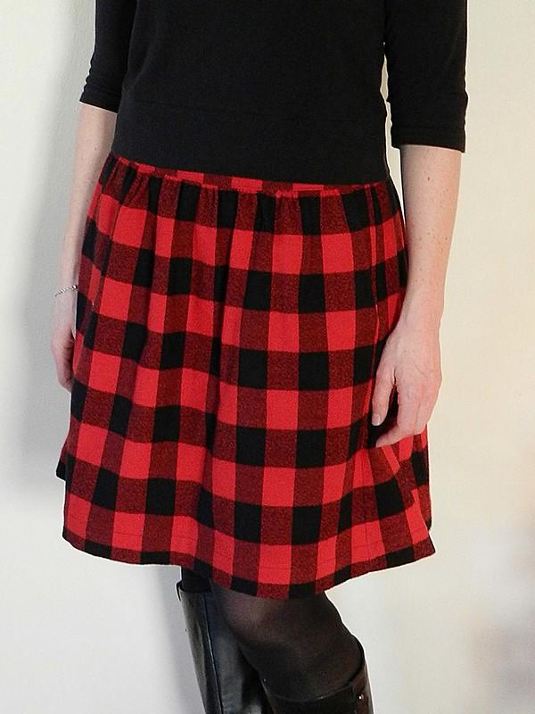 Buffalo Plaid Everyday Skirt 5.1
