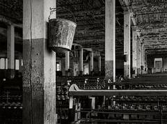 Abandoned Lonaconing Silk Mill  - Linhof Technika V, 125mm Fujinon