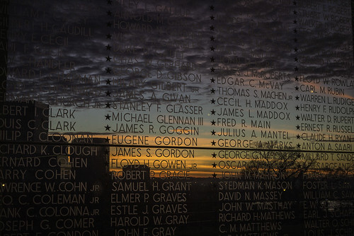 color glass clouds sunrise stars dead cityscape richmond seethrough names rva heros virginiawarmemorial