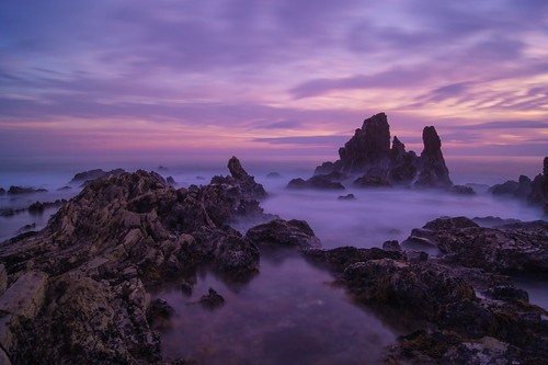 california longexposure sunset seascape sunrise newportbeach westcoast coronadelmar