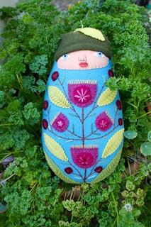 bright summer flower baby   by Mimi K