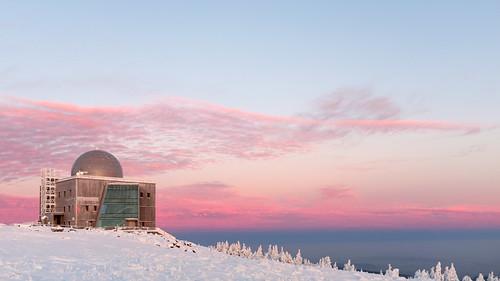schnee sunrise winter himmel snow sonnenaufgang berg morgen harz wolken clouds wernigerode sachsenanhalt germany de