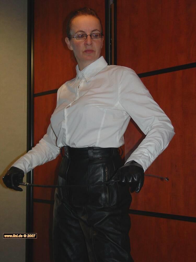 katja624   Ladies in Leather - Katja   Leather Carolynn