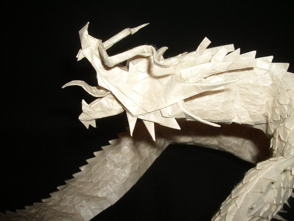 Ryujin 3 5 Head 1 Designed By Satoshi Kamiya Folded By Me
