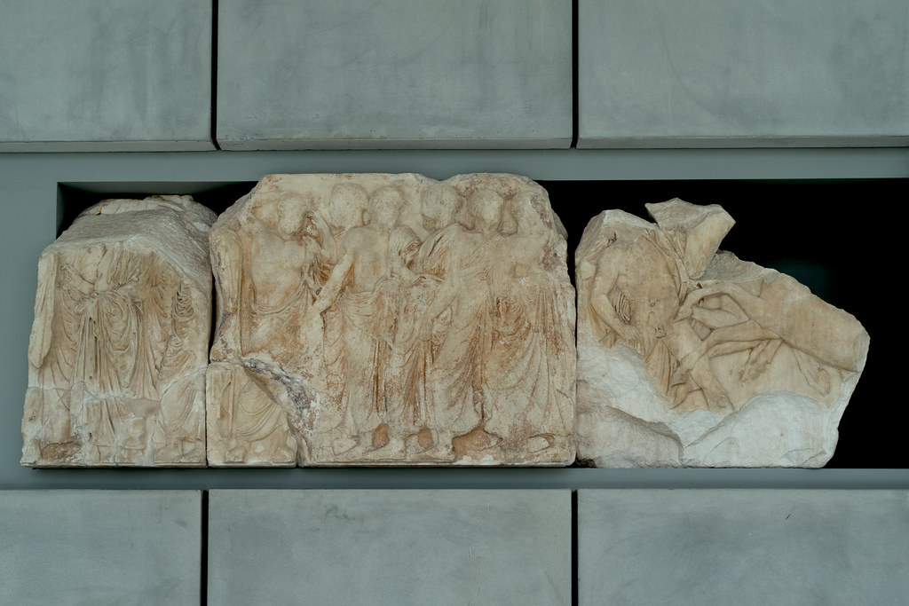 Parthenon – XXV: North Frieze | Just before the equestrian ...