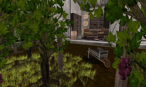 Farmhouse Wine Room_Exterior View | by Hidden Gems in Second Life (Interior Designer)