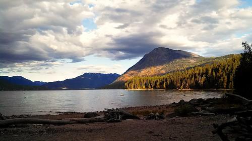 Lake Wenatchee, WA early morning   by Ace_E