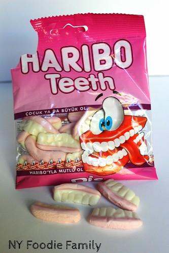 Haribo Gummy Teeth   by NY Foodie Family