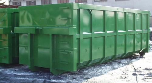 Sokmindent lehet konténerekben szállítani, a zöldhulladéktól kezdve a háztartási lomokig.