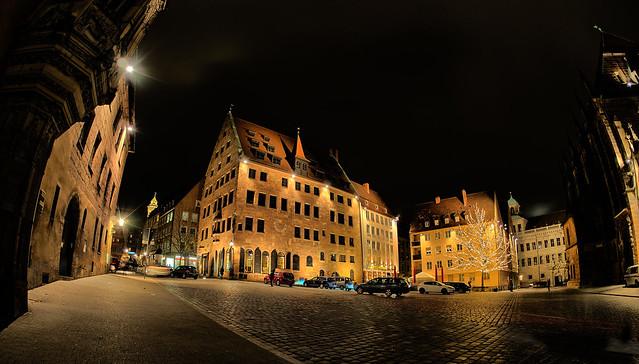 Away from the Christkindlesmarkt I
