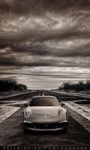 """On the runway: Porsche 991"""