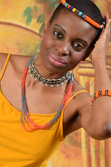 DSC_1136 Comfort from Tanzania with South African Zulu Cultural Ethnic Beaded Jewellery Shoreditch Studio London