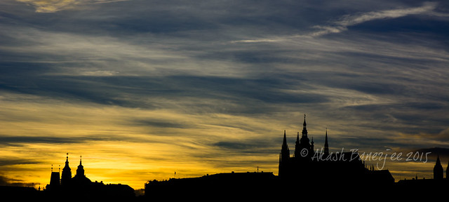 Sunset @ Prague Castle