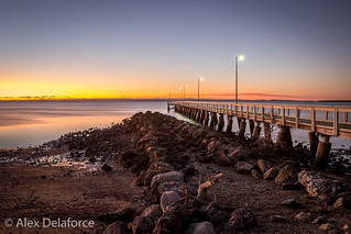 Wellington Point Jetty at Sunrise.jpg | by alextdel