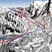 Mapa Jungfrau - Wengen