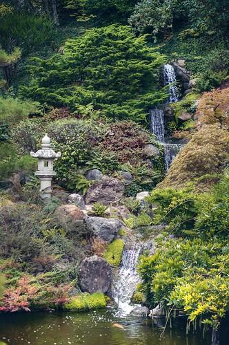 waterfall hakonegardens garden japanesegarden hdr 1xp raw nex6 photomatix california saratoga water sel50f18 landscape creek outdoor serene fav100 siliconvalley