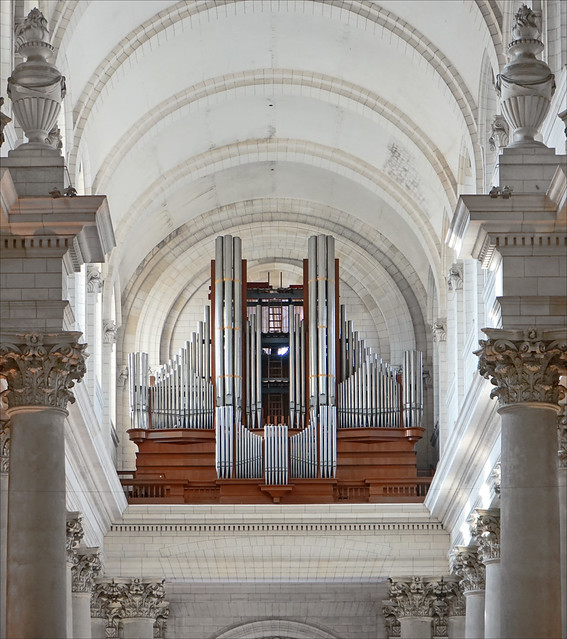 Les grandes orgues de la cathédrale d'Arras