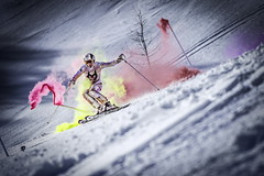 Marcel Hirscher performs during the project 'Marcel Hirscher Colours' at Reiteralm near Schladming, Austria on March 24th, 2015 // Markus Berger / Red Bull Content Pool // P-20150407-00035 // Usage for editorial use only // Please go to www.redbullcontentpool.com for further information. //