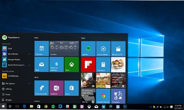 Windows-10 desktop start menu features update windows 10 m…   Flickr