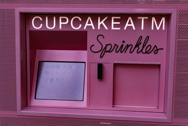 Cupcake ATM - Sprinkles Las Vegas Strip