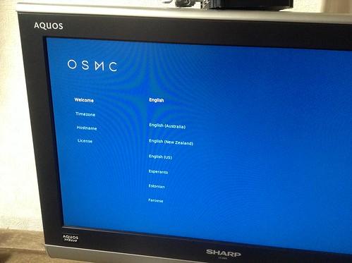 Raspberry PiにOSMCをインストールして快適YouTubeライフ